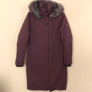 Basin + Range Women's Parka Coat W/ Duck Down